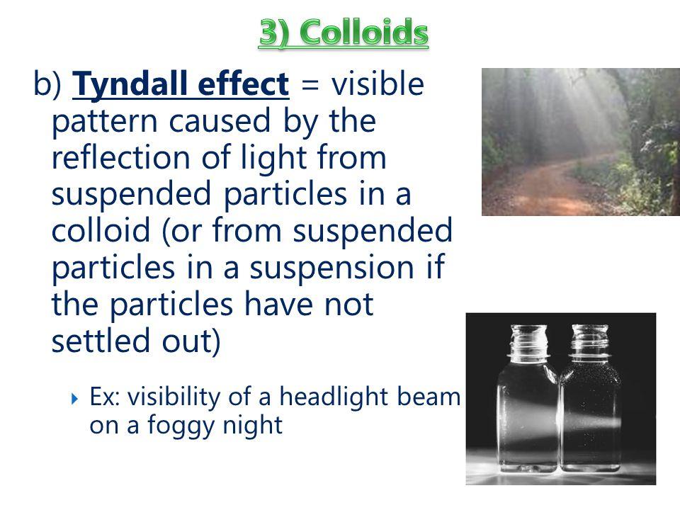 3) Colloids