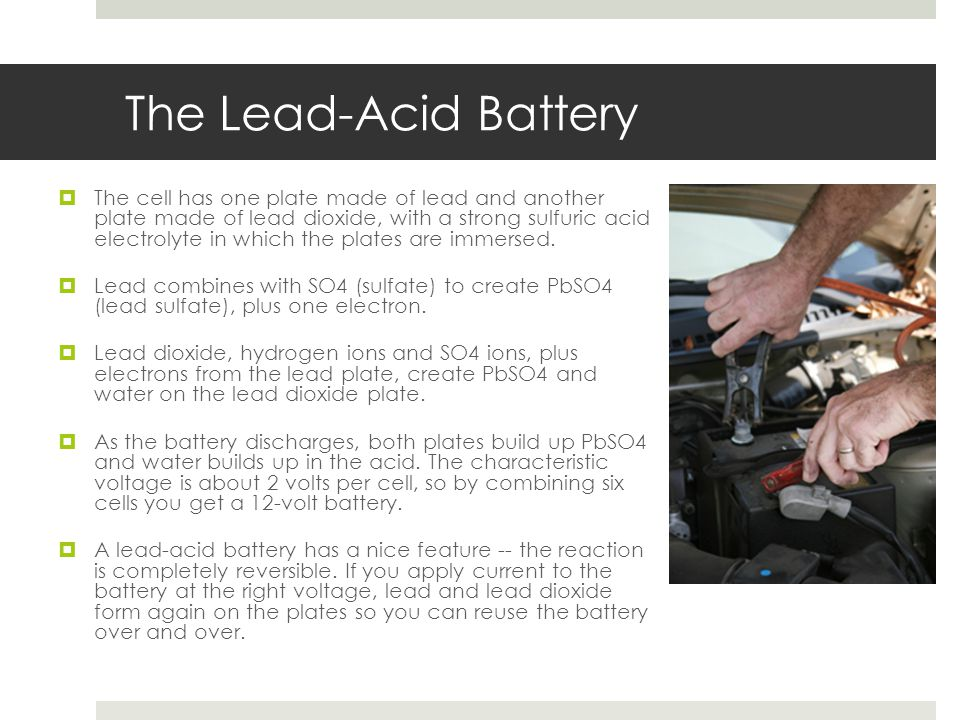 The Lead-Acid Battery