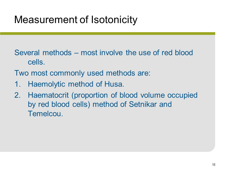 Measurement of Isotonicity