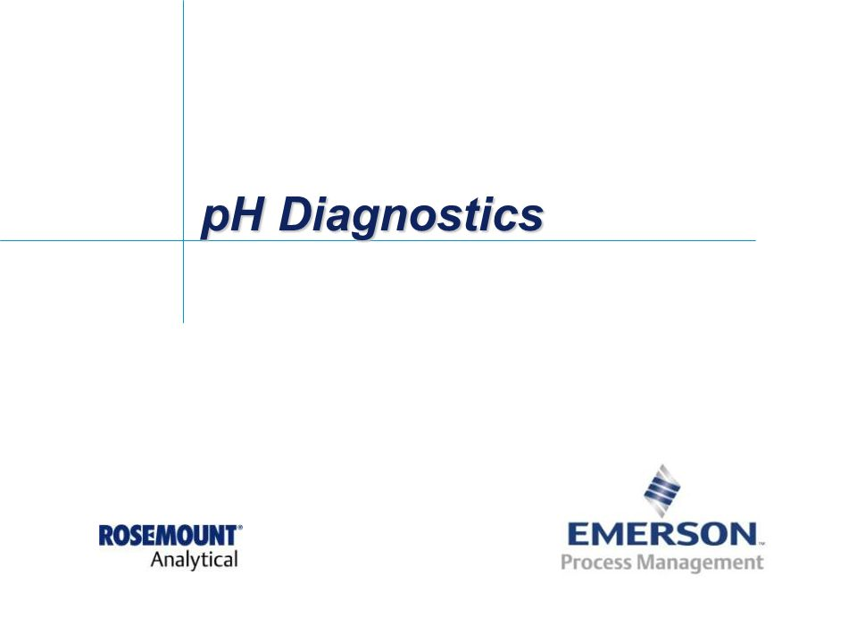 pH Diagnostics