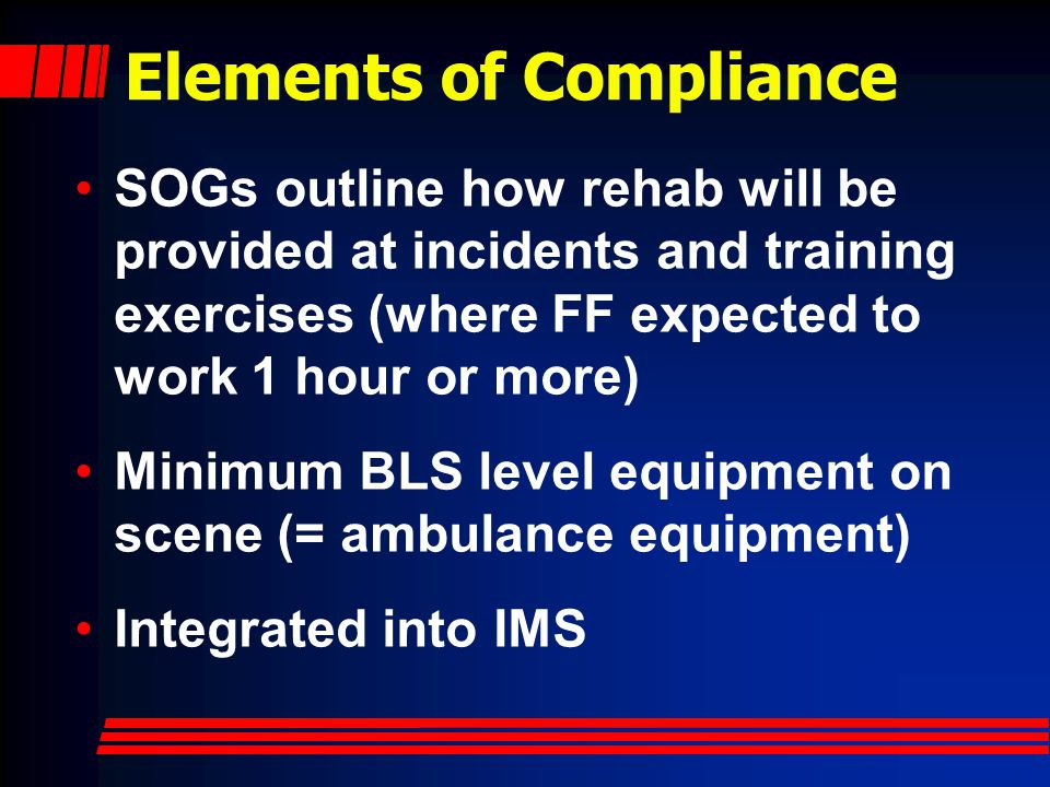 Elements of Compliance