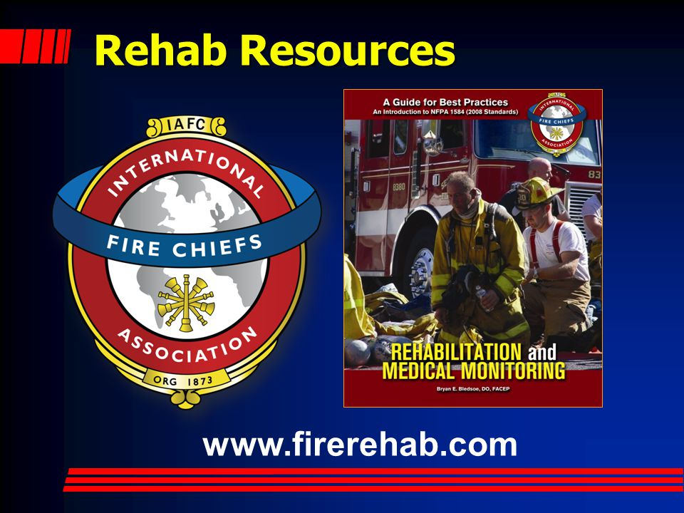 Rehab Resources www.firerehab.com