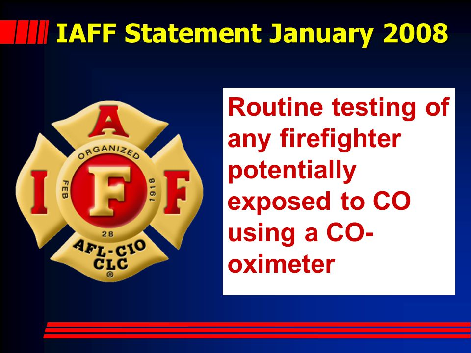 IAFF Statement January 2008