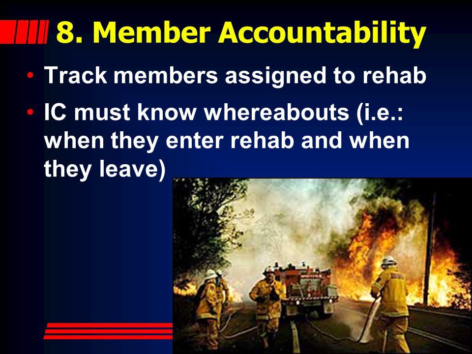 8. Member Accountability