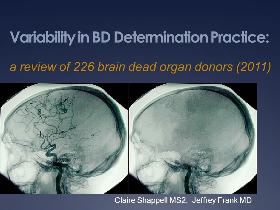Variability in BD Determination Practice: