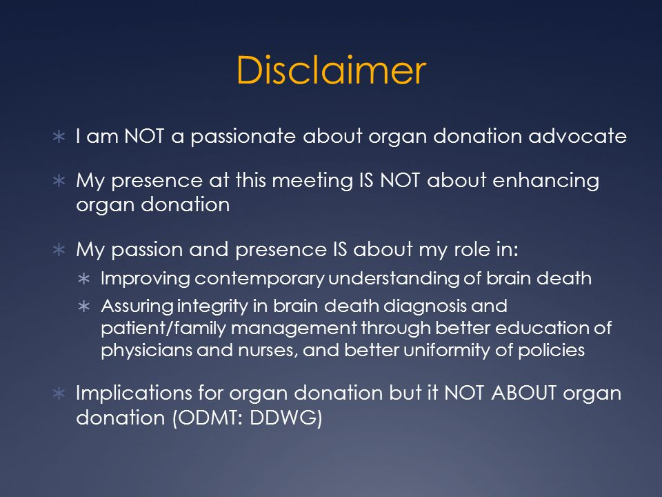 Disclaimer I am NOT a passionate about organ donation advocate
