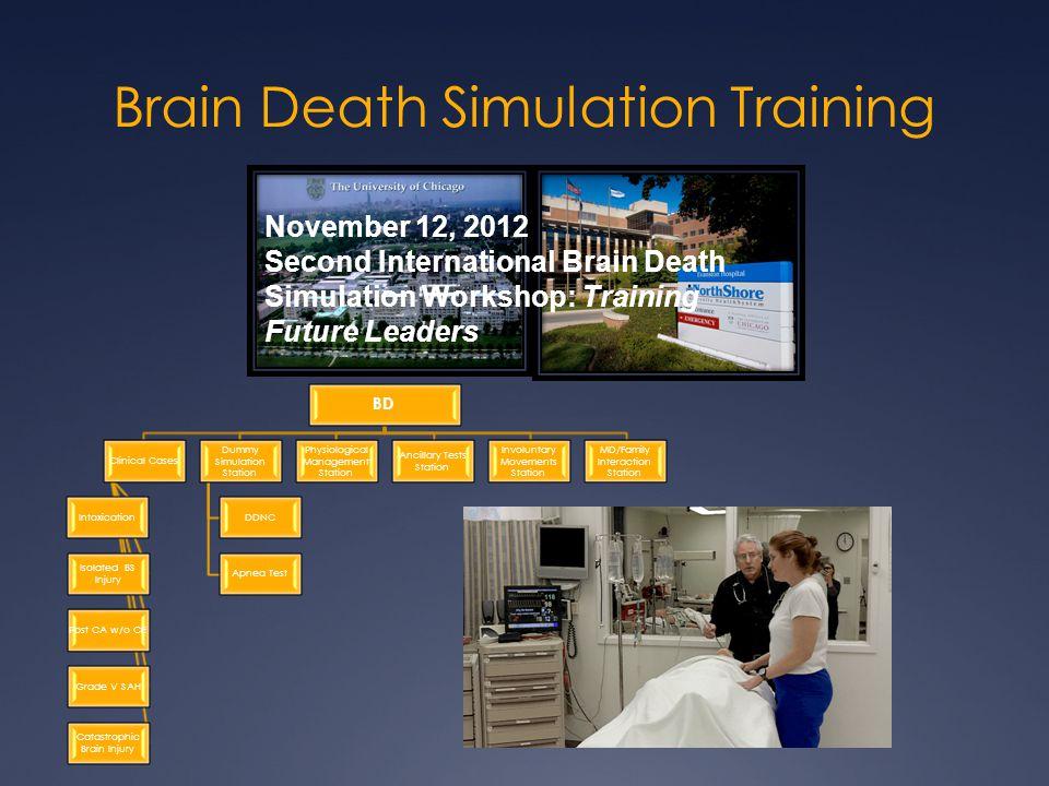 Brain Death Simulation Training
