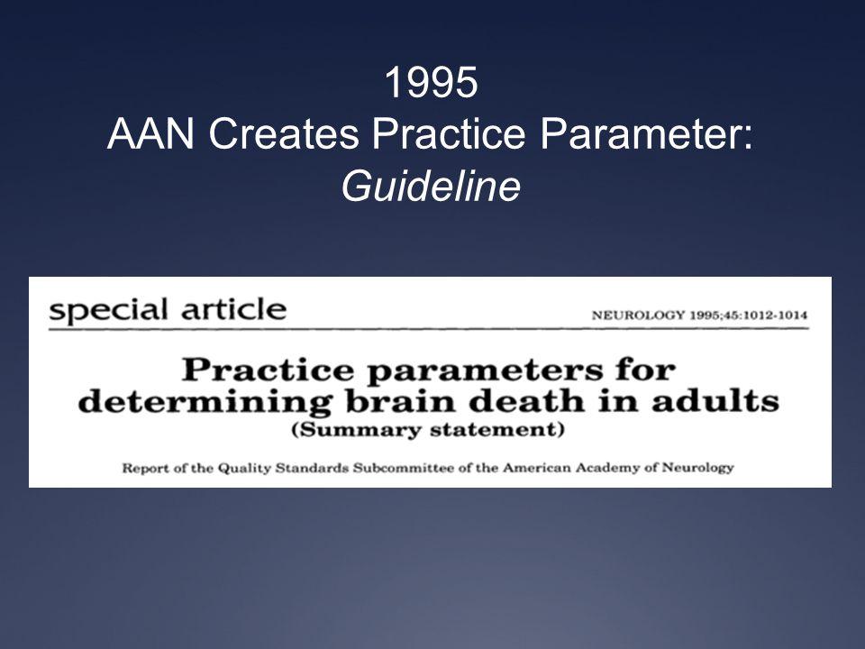 AAN Creates Practice Parameter: Guideline