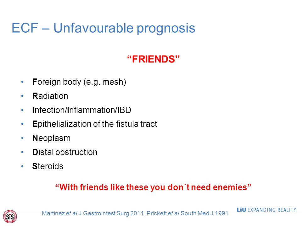 ECF – Unfavourable prognosis