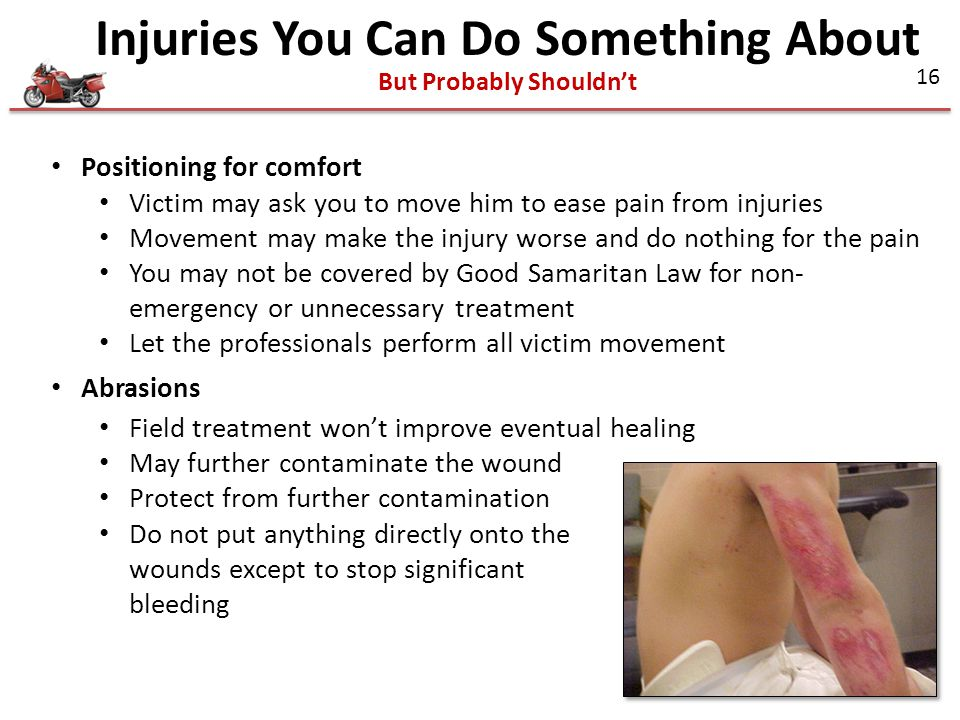 Injuries You Can Do Something About But Probably Shouldn't