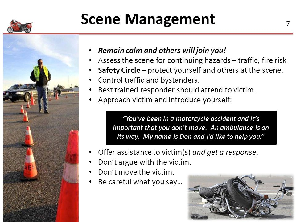 Scene Management Remain calm and others will join you!