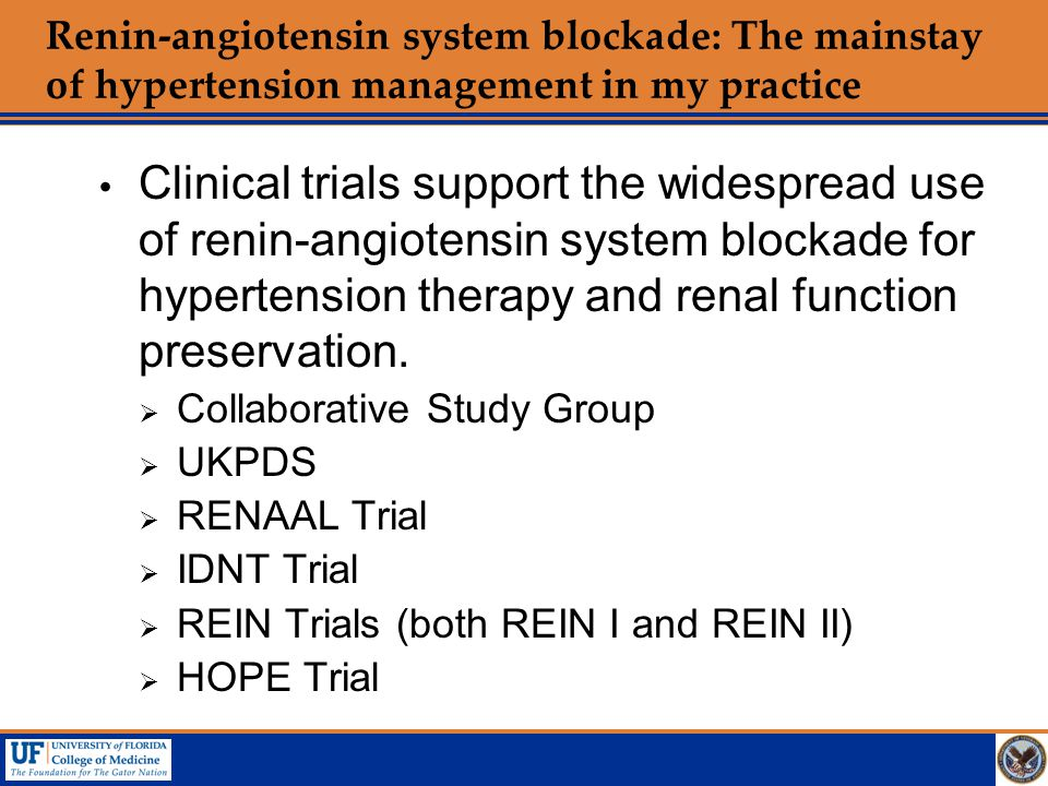 Renin-angiotensin system blockade: The mainstay of hypertension management in my practice
