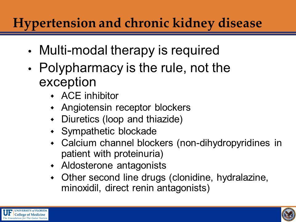 Hypertension and chronic kidney disease