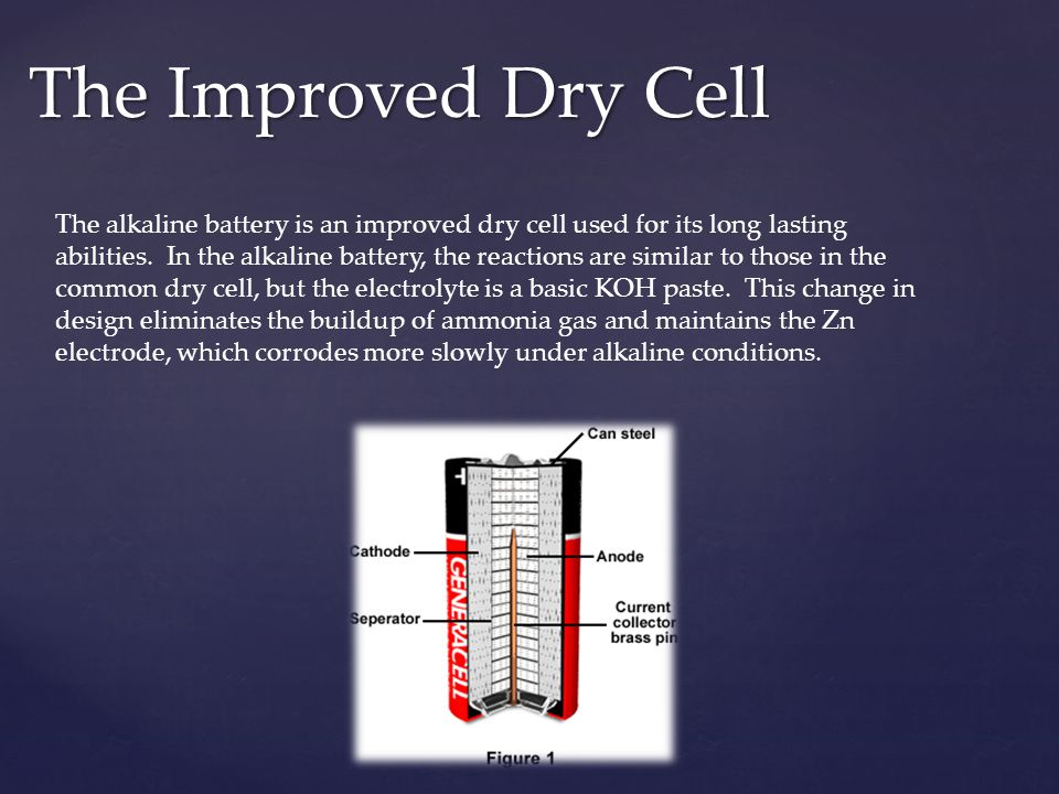 The Improved Dry Cell