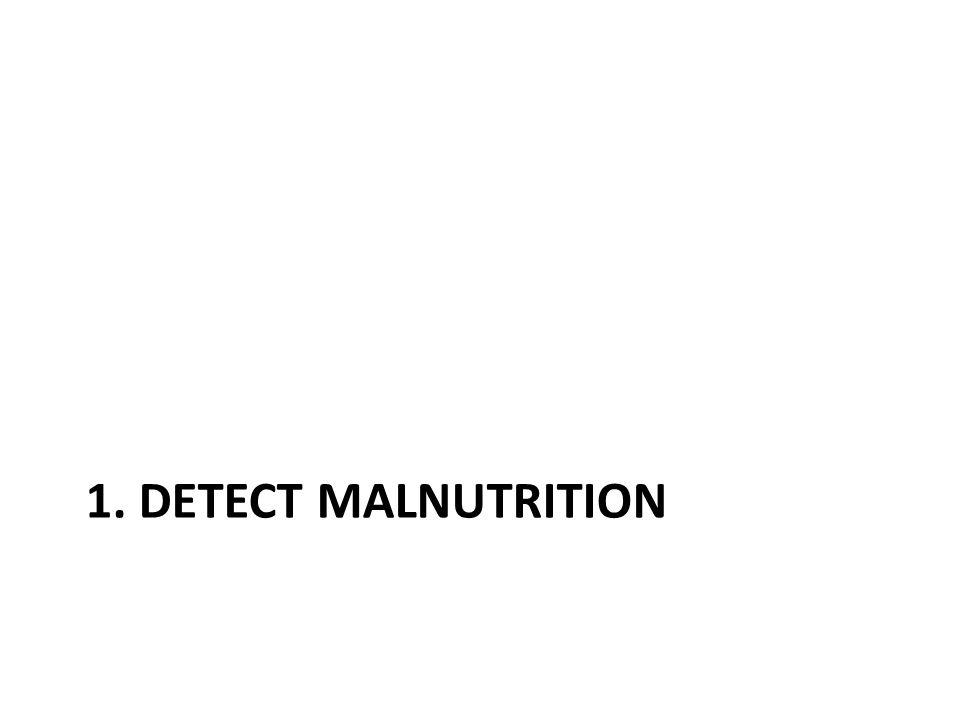 1. Detect malnutrition