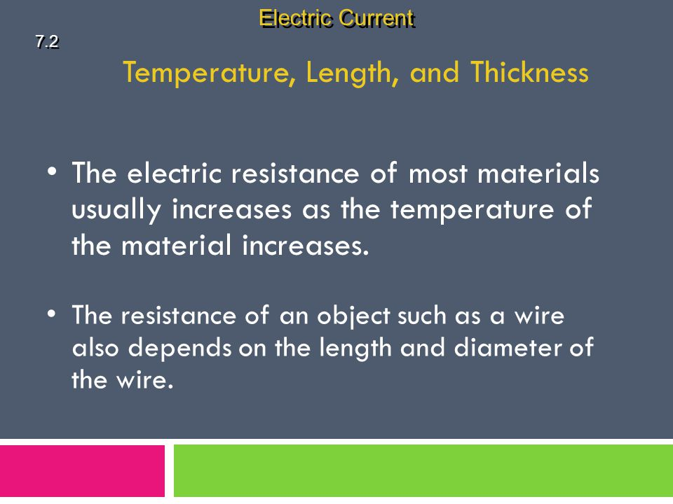 Temperature, Length, and Thickness