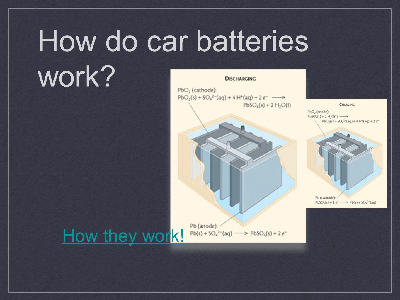 How do car batteries work