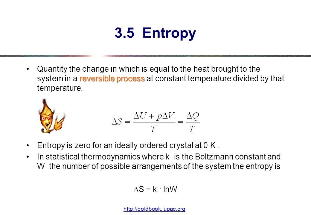 3.5 Entropy