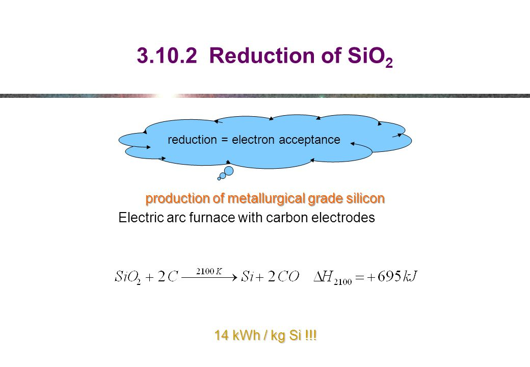 reduction = electron acceptance