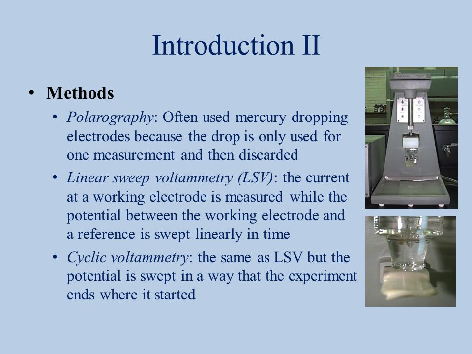 Introduction II Methods
