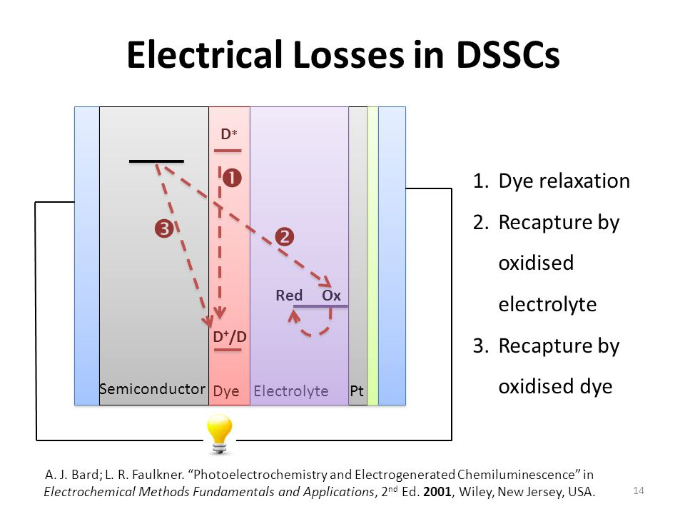 Electrical Losses in DSSCs