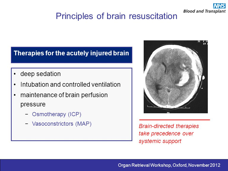 Principles of brain resuscitation