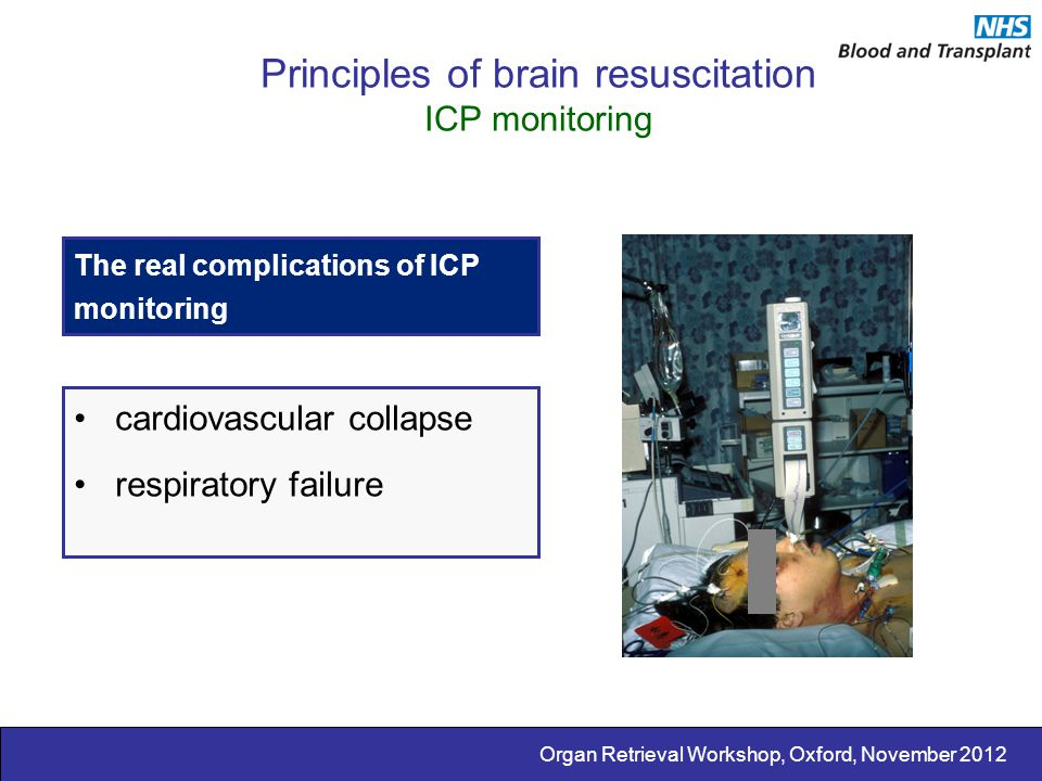 Principles of brain resuscitation ICP monitoring