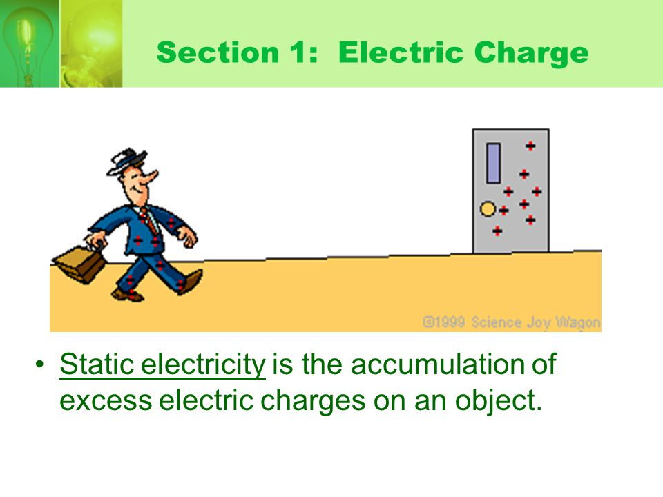 Section 1: Electric Charge