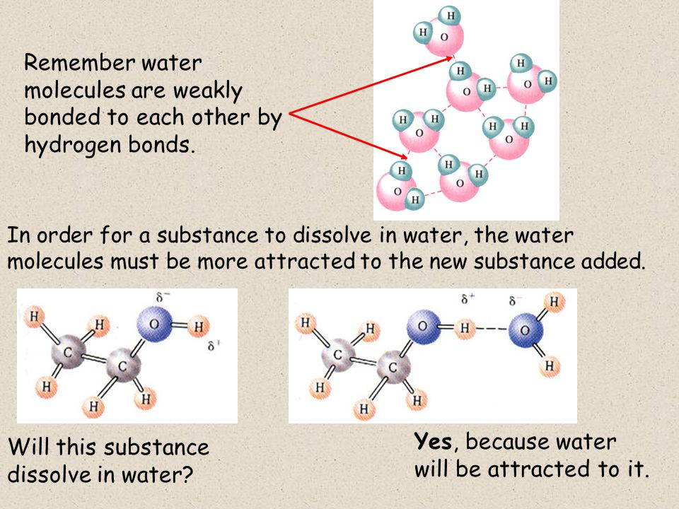 Will this substance dissolve in water