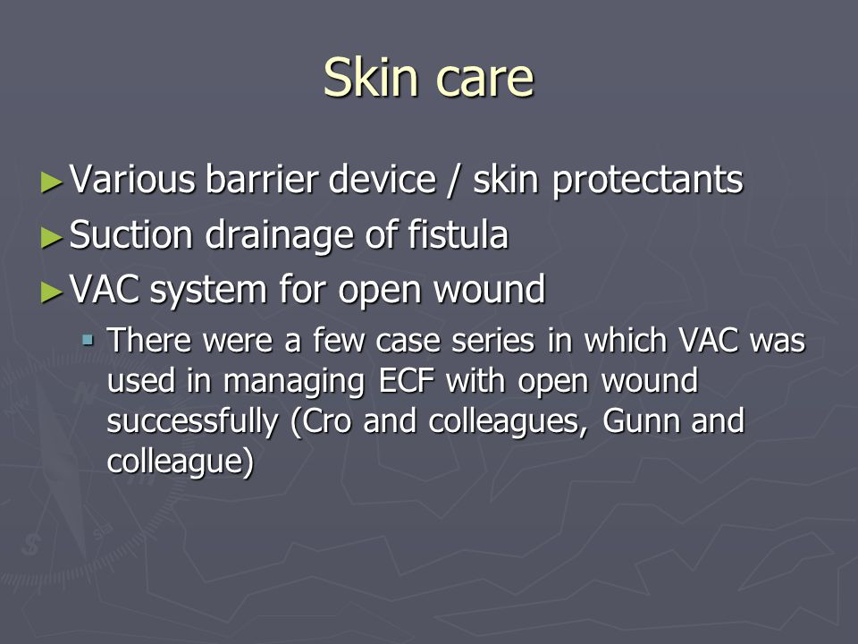 Skin care Various barrier device / skin protectants