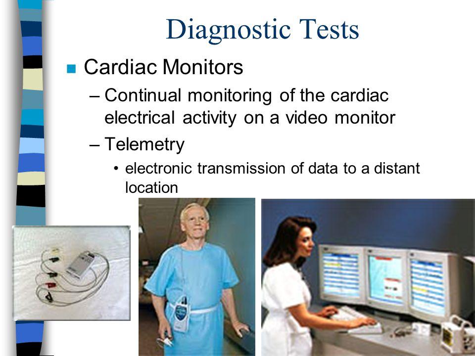 Diagnostic Tests Cardiac Monitors