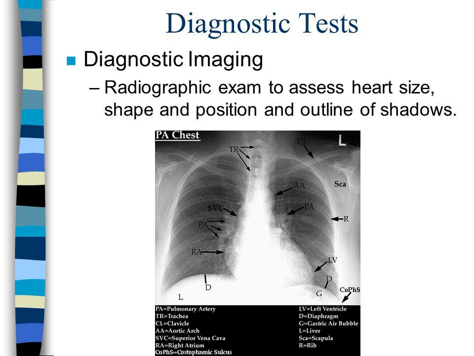 Diagnostic Tests Diagnostic Imaging