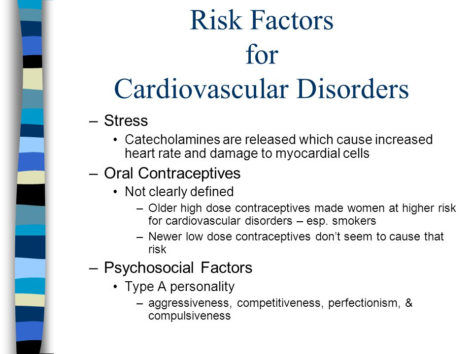 Risk Factors for Cardiovascular Disorders