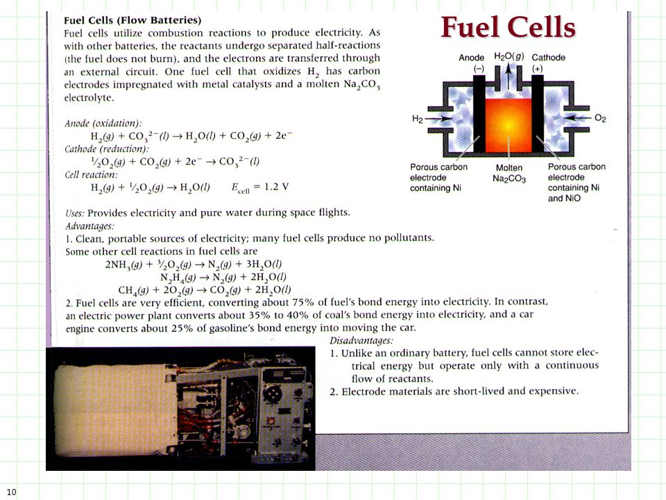 Fuel Cells Before everyone was environmetally conscious, major industrialize nations contributed mostly to air pollution.