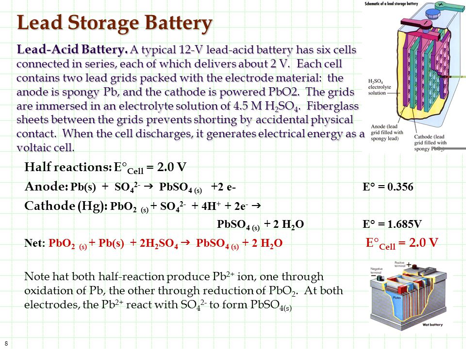 Lead Storage Battery