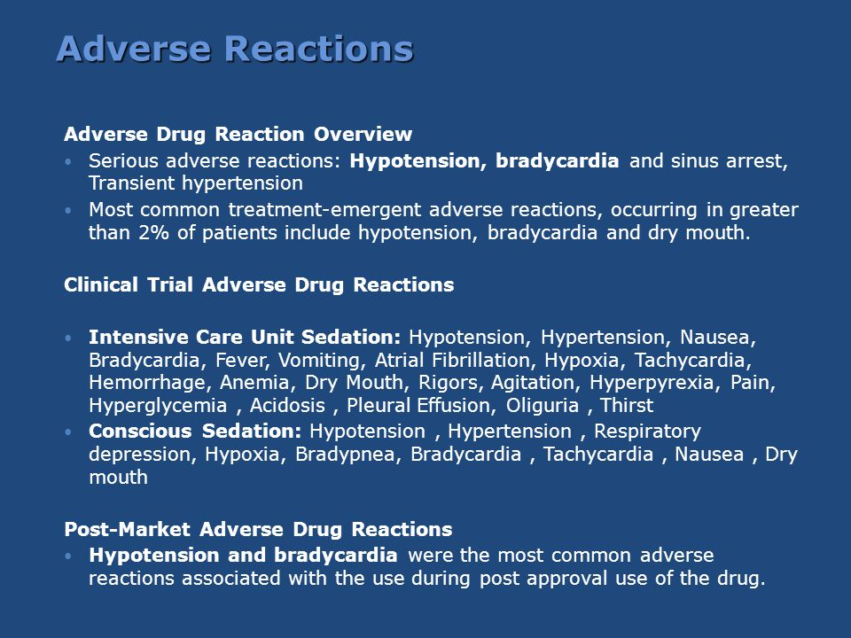 Adverse Reactions Adverse Drug Reaction Overview