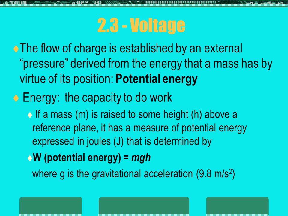 2.3 - Voltage