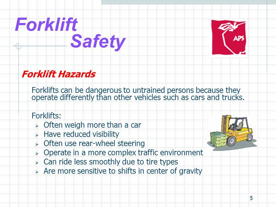 Forklift Safety Forklift Hazards