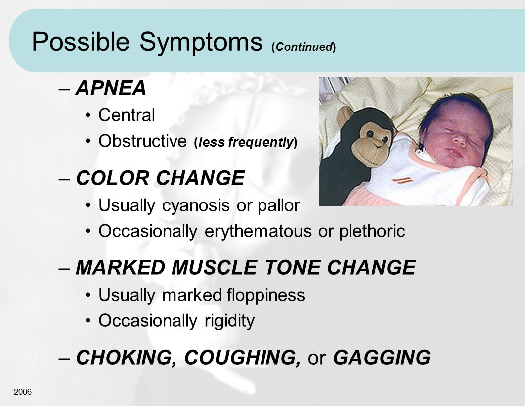 Possible Symptoms (Continued)
