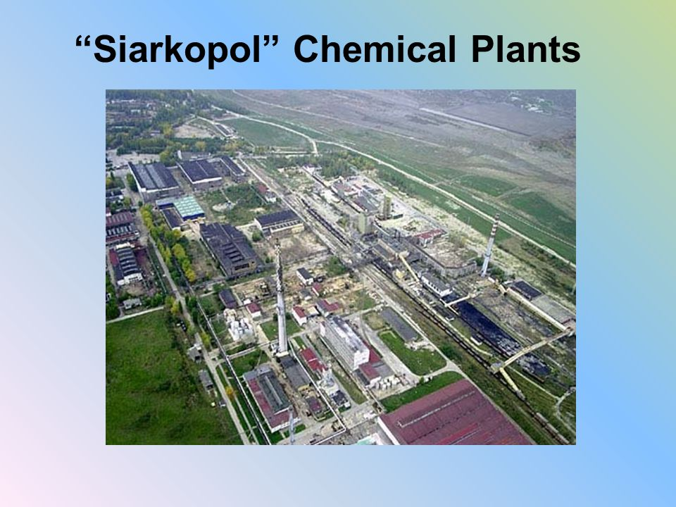 Siarkopol Chemical Plants