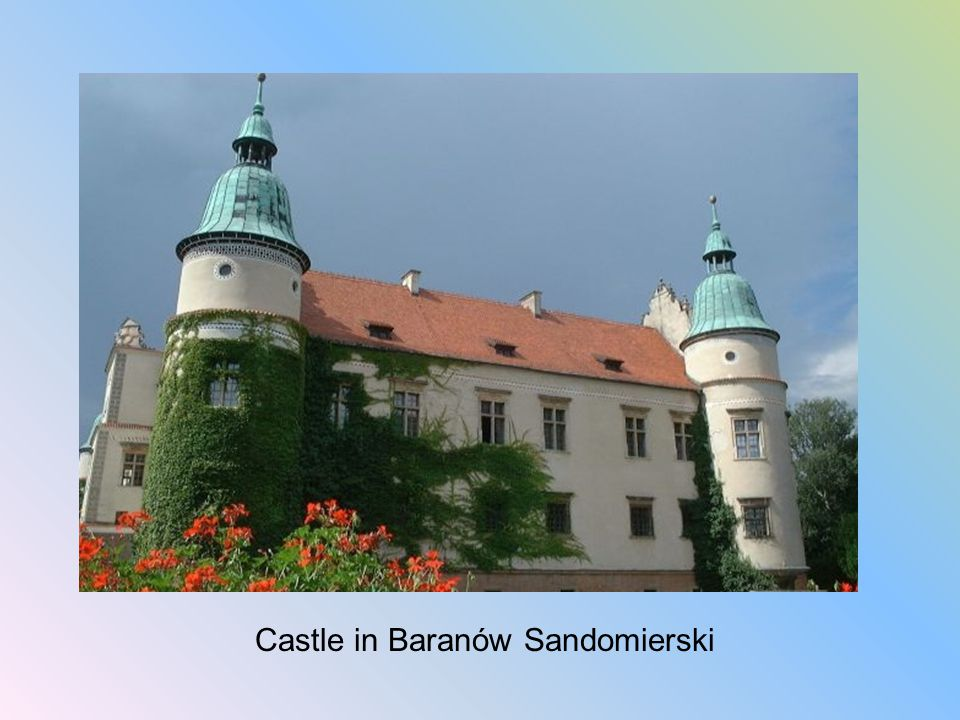 Castle in Baranów Sandomierski