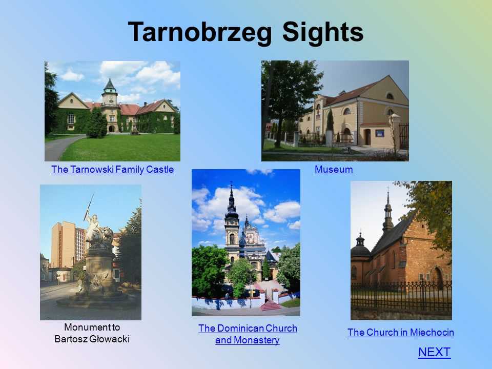 Tarnobrzeg Sights NEXT The Tarnowski Family Castle Museum