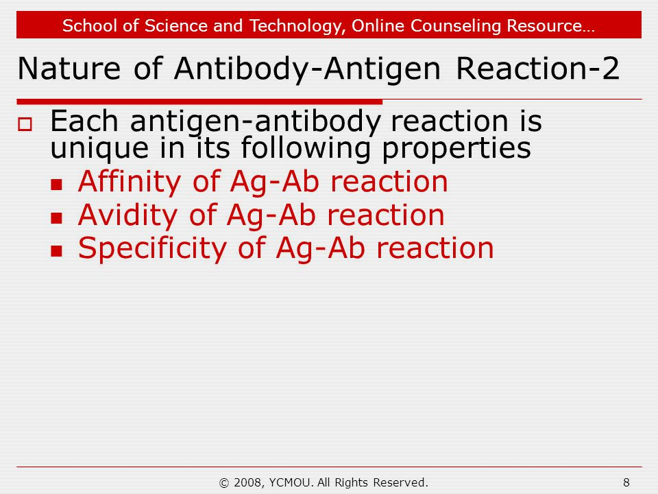 Nature of Antibody-Antigen Reaction-2
