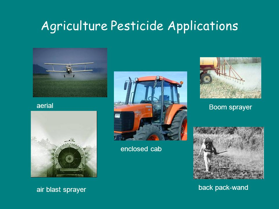 Agriculture Pesticide Applications