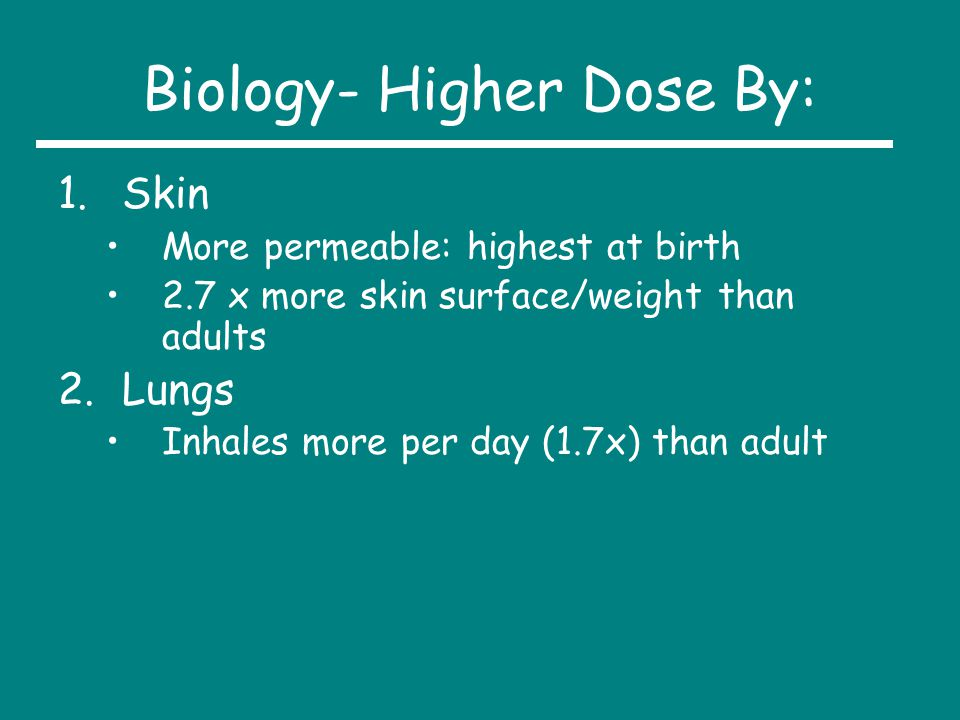 Biology- Higher Dose By: