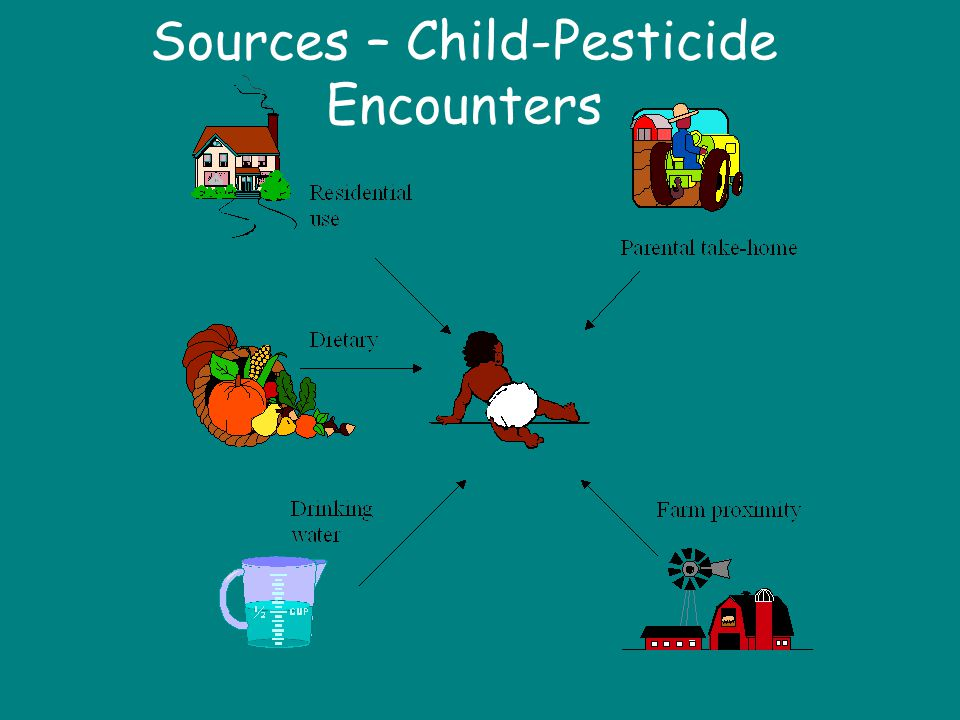 Sources – Child-Pesticide Encounters