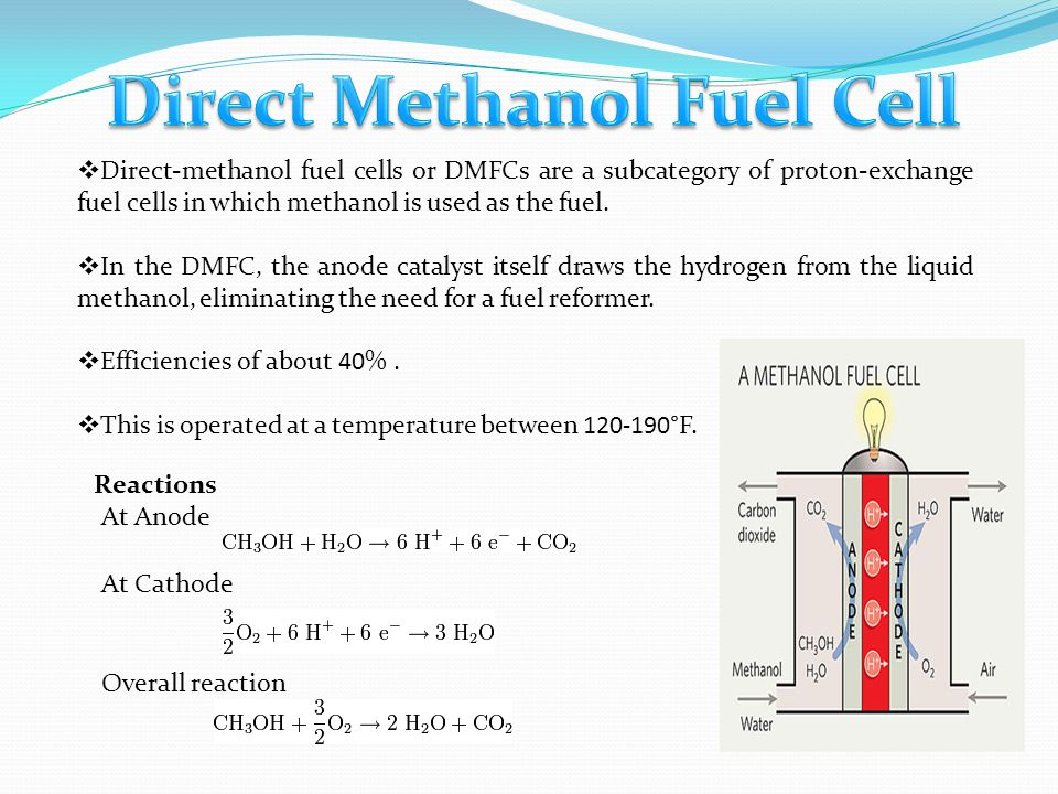 Direct Methanol Fuel Cell