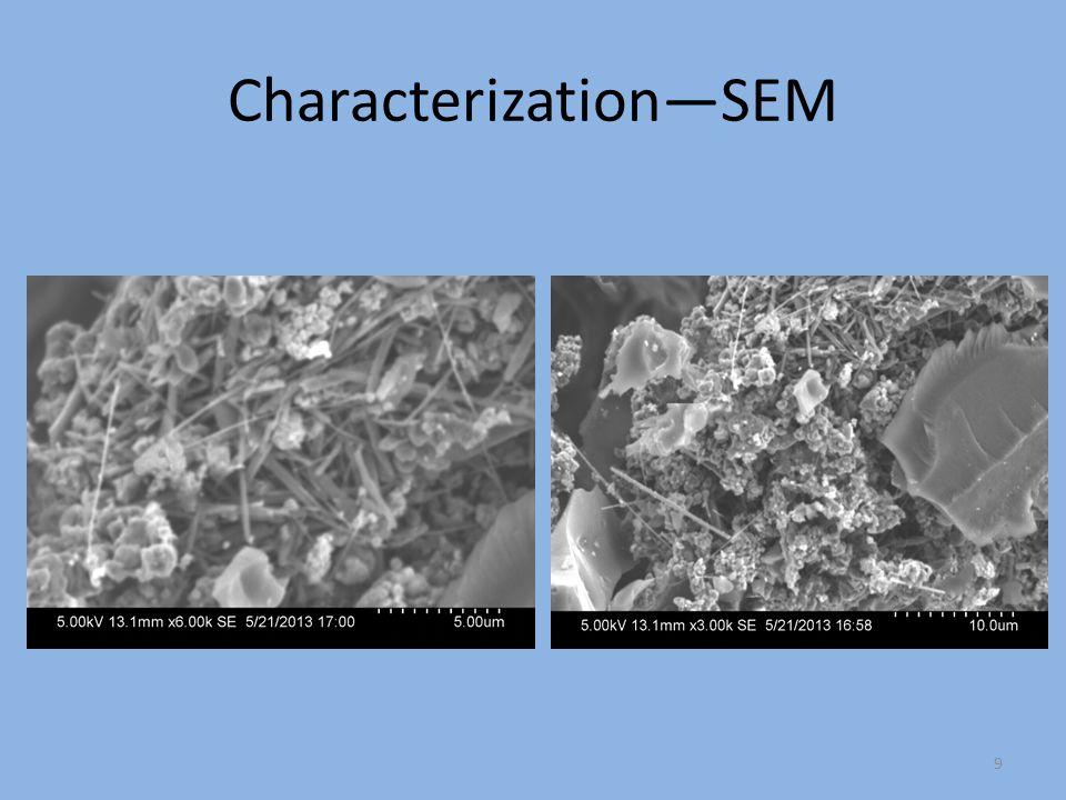 Characterization—SEM
