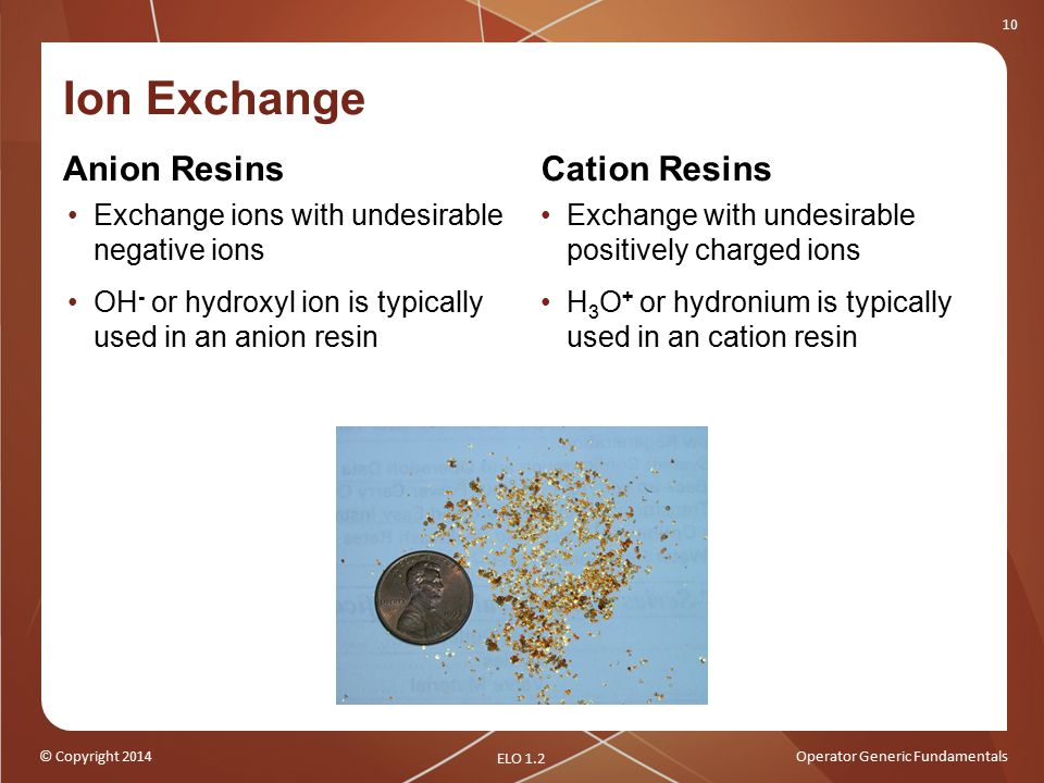 Ion Exchange Anion Resins Cation Resins