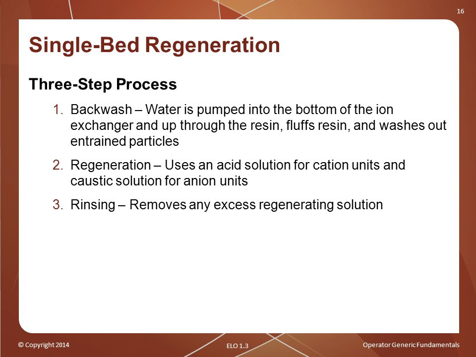 Single-Bed Regeneration